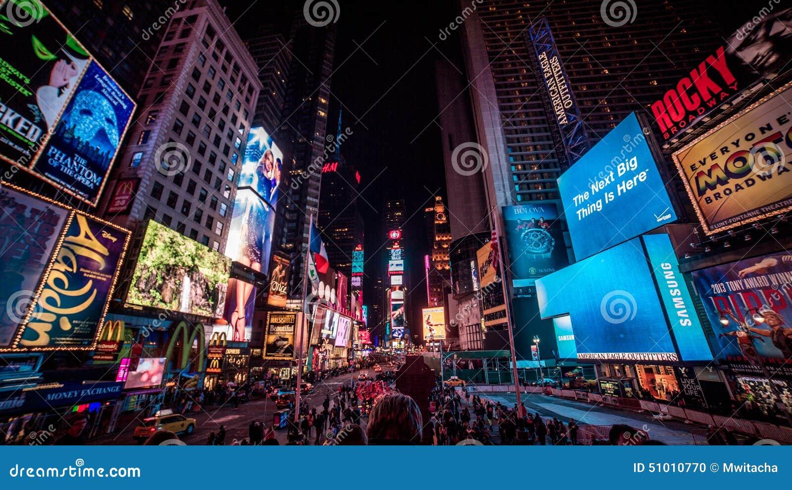 Times Square na noite