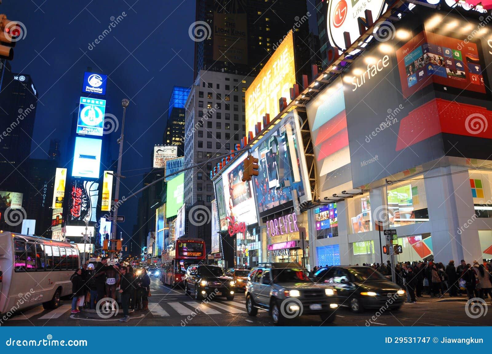 Times Square na noite, New York City