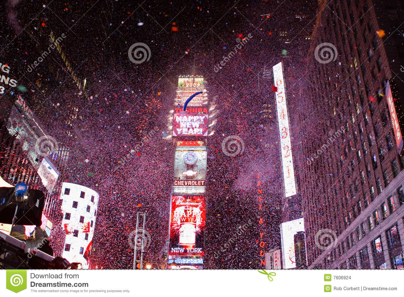 Times Square New Year