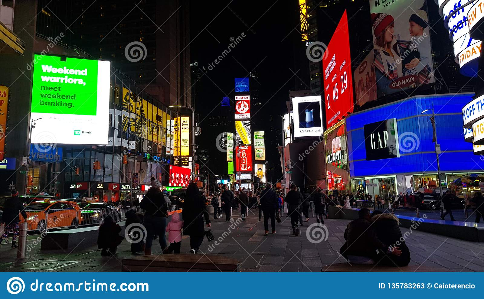 TIMES SQUARE NEW YORK 2019