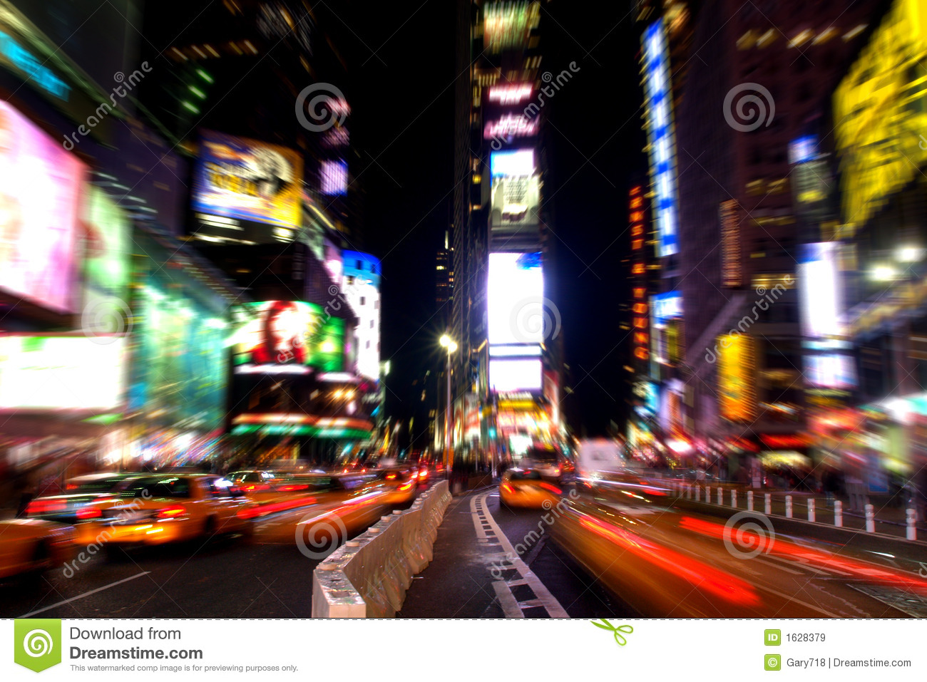Times square at night #3