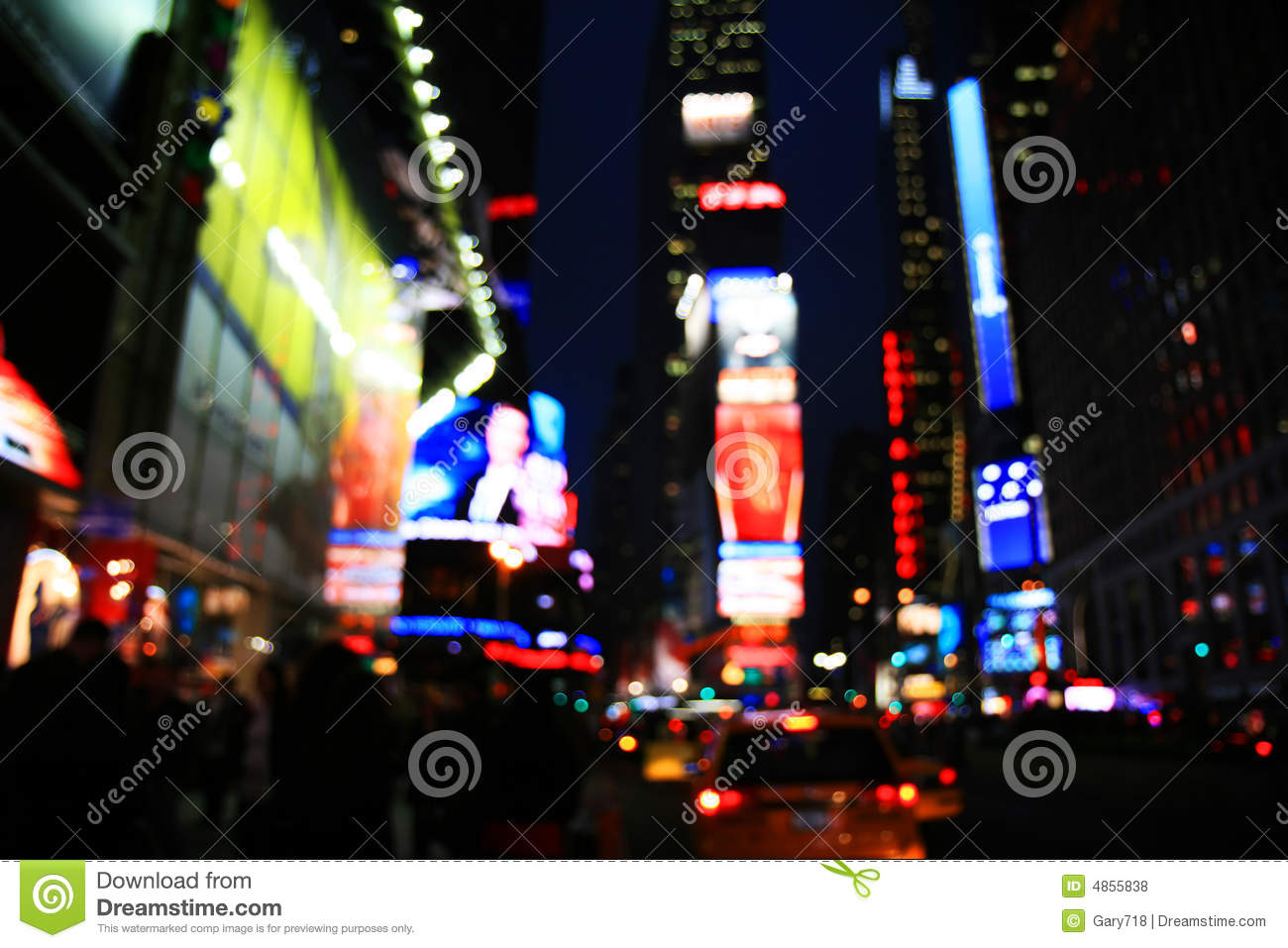 The Times Square -special effect
