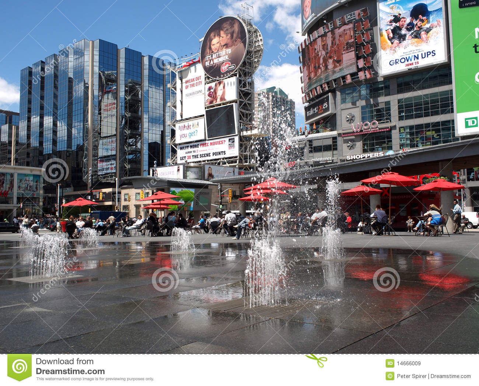 Times Square of Toronto