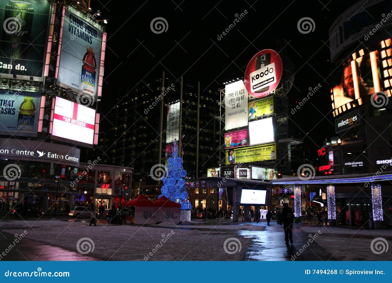 Times Square van Toronto