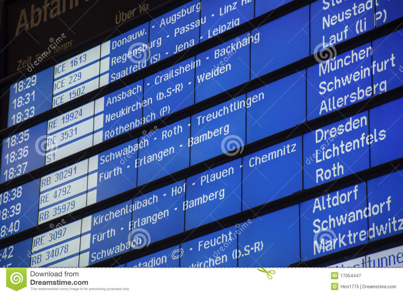 timetable in train station of deutsche bahn stock image image of europe timetables 17054447. Black Bedroom Furniture Sets. Home Design Ideas