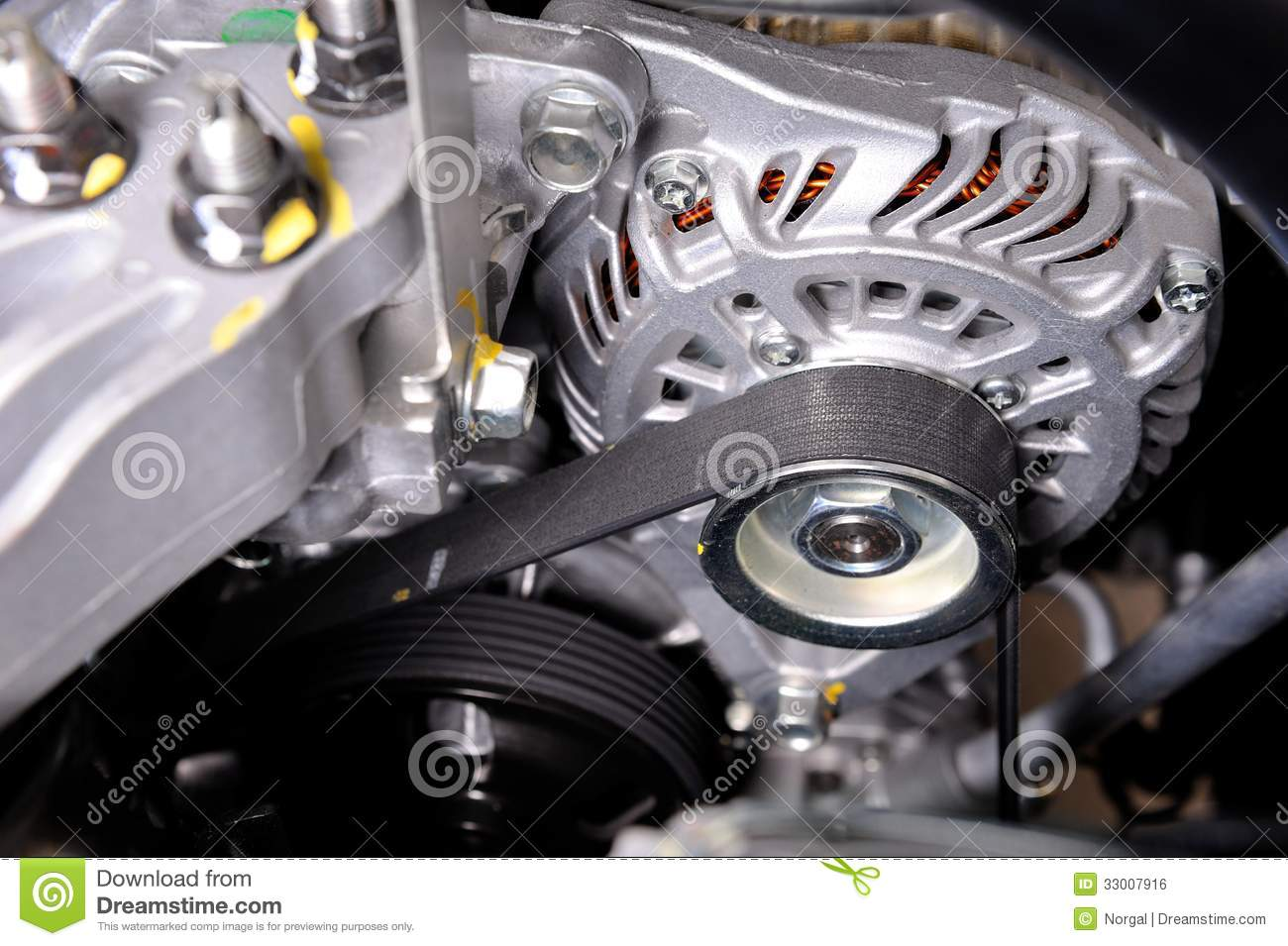 timing of a car diagram of a hybrid car timing belt royalty free stock image image 33007916