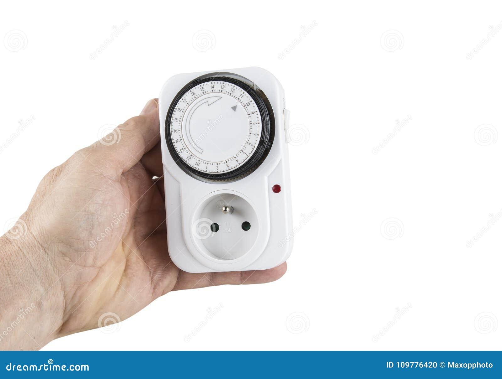 24 timmeströmförsörjningar pluggar in håligheten för europén för tidmätareströmbrytarestämpeluren
