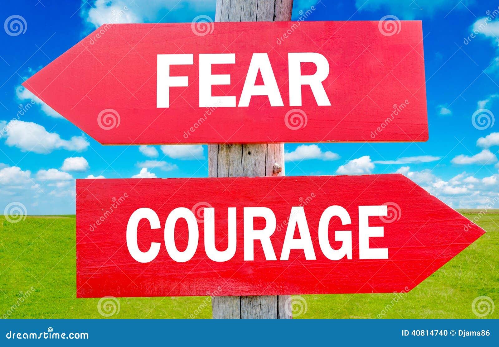 Timore e coraggio