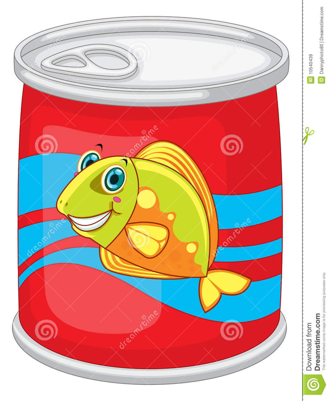 Cake Tin Clipart : Tin can stock vector. Image of closeup, pack, shiny ...