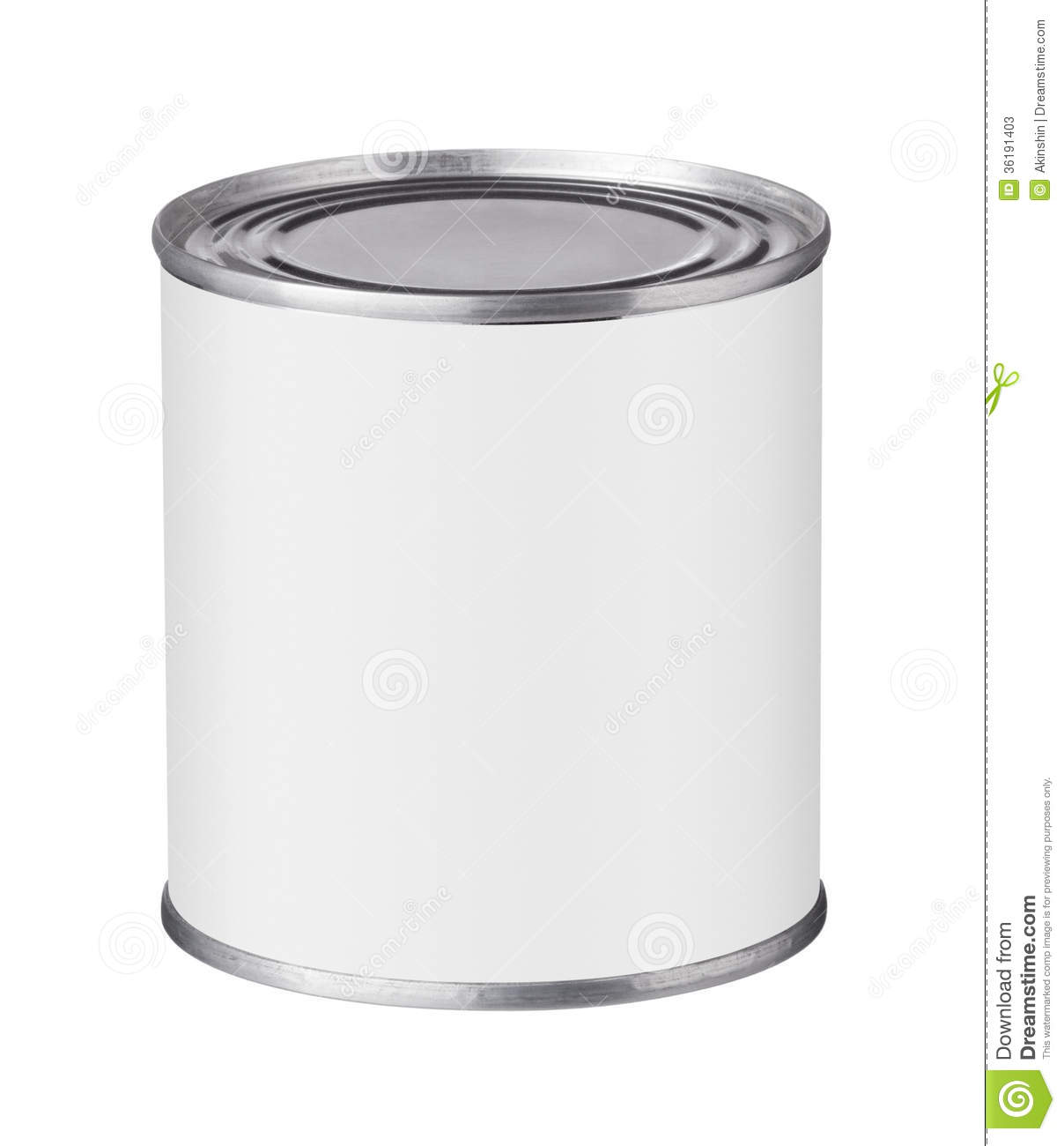Blank Soup Can Clipart tin can with a blank label stock photos - image ...