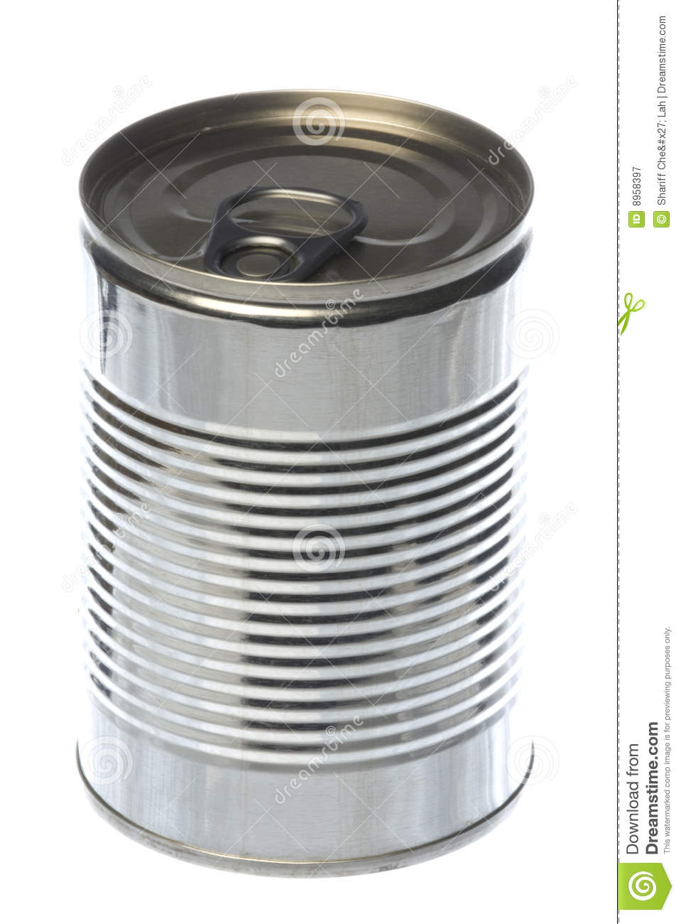 Tin Can Isolated Stock Image. Image Of Conserve, Preserve