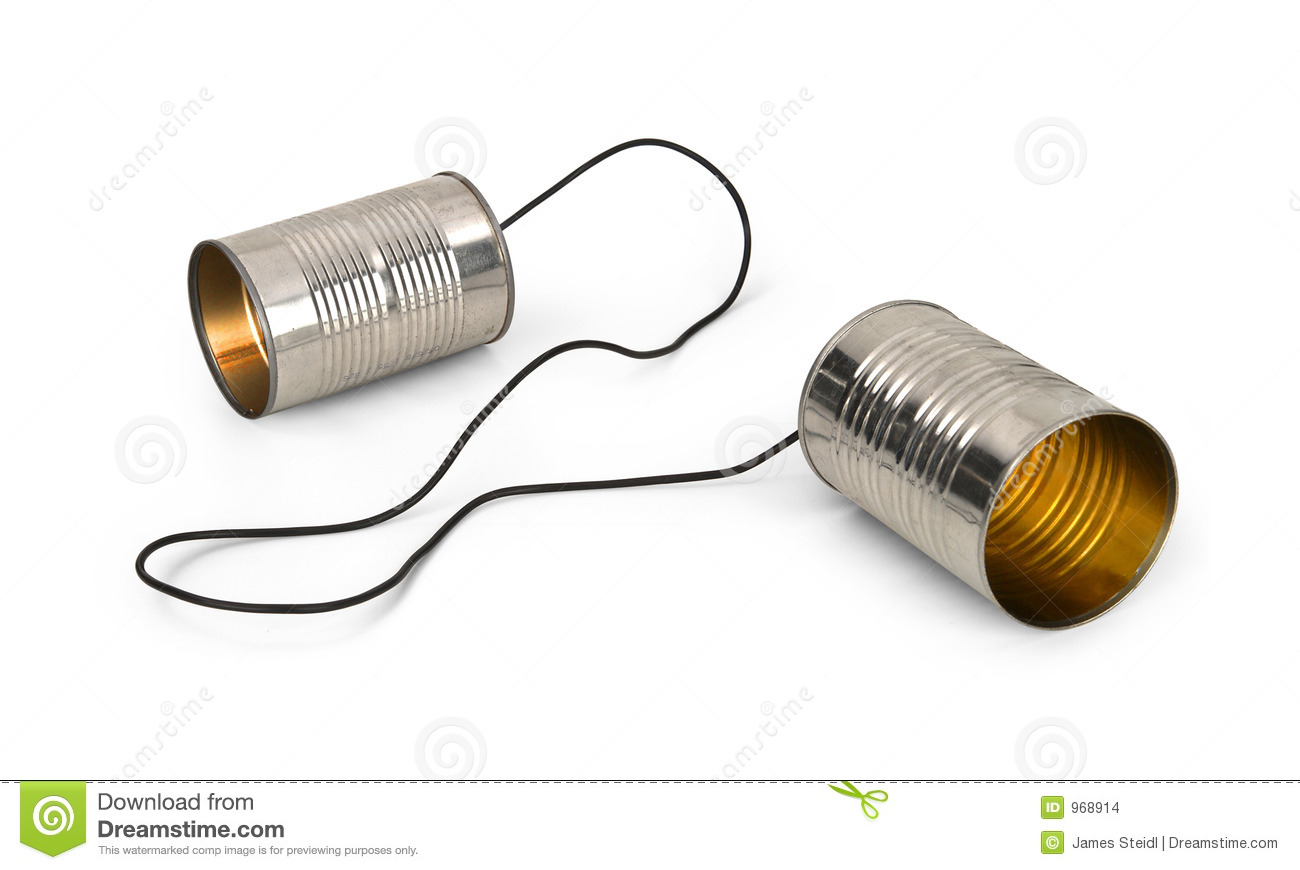Image result for tin can phone