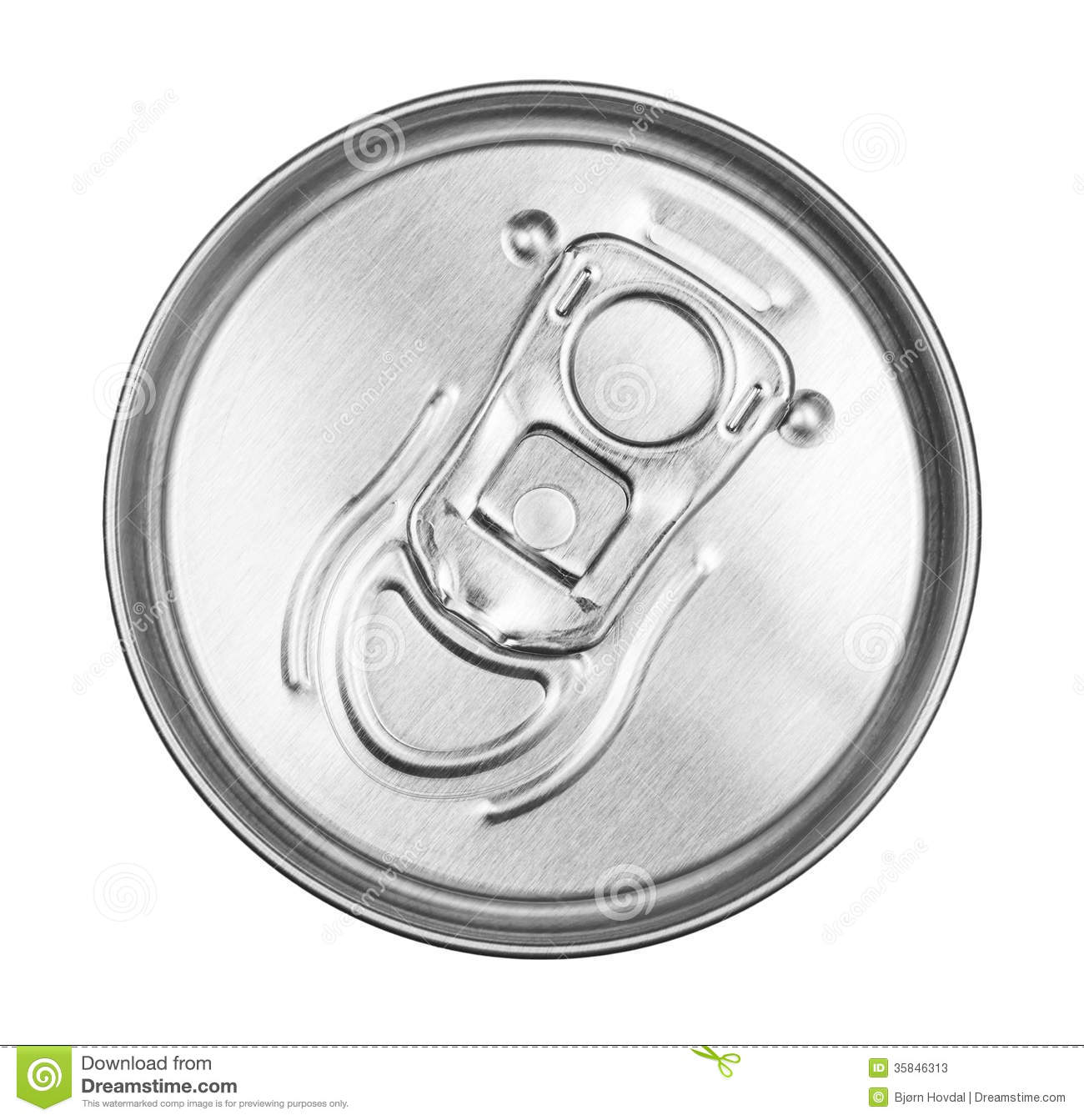 Tin Can Top Stock Photos - Image: 35846313