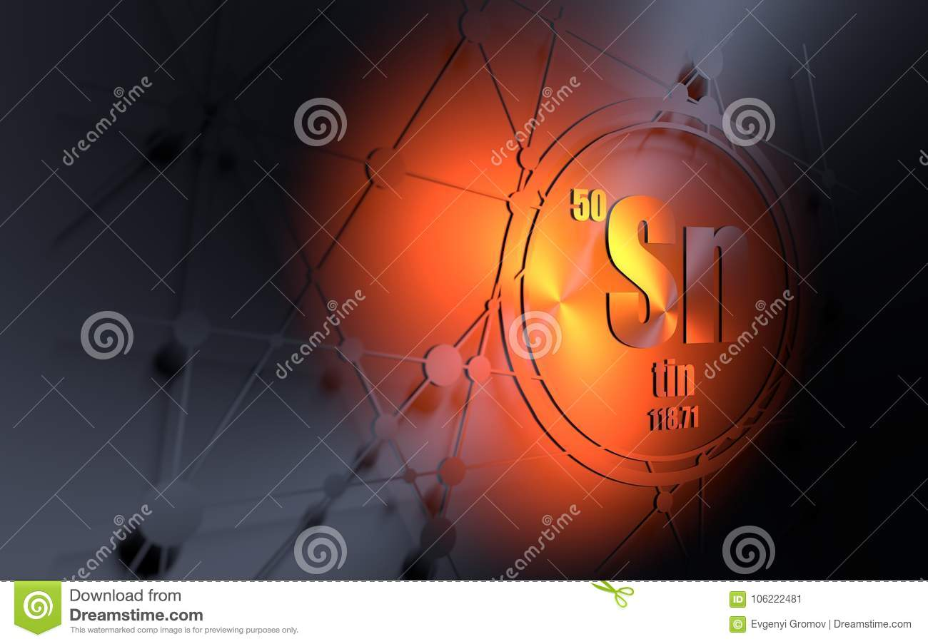 Tin atomic symbol choice image symbol and sign ideas tin chemical element stock illustration image of orange 106222481 tin chemical element buycottarizona urtaz Image collections