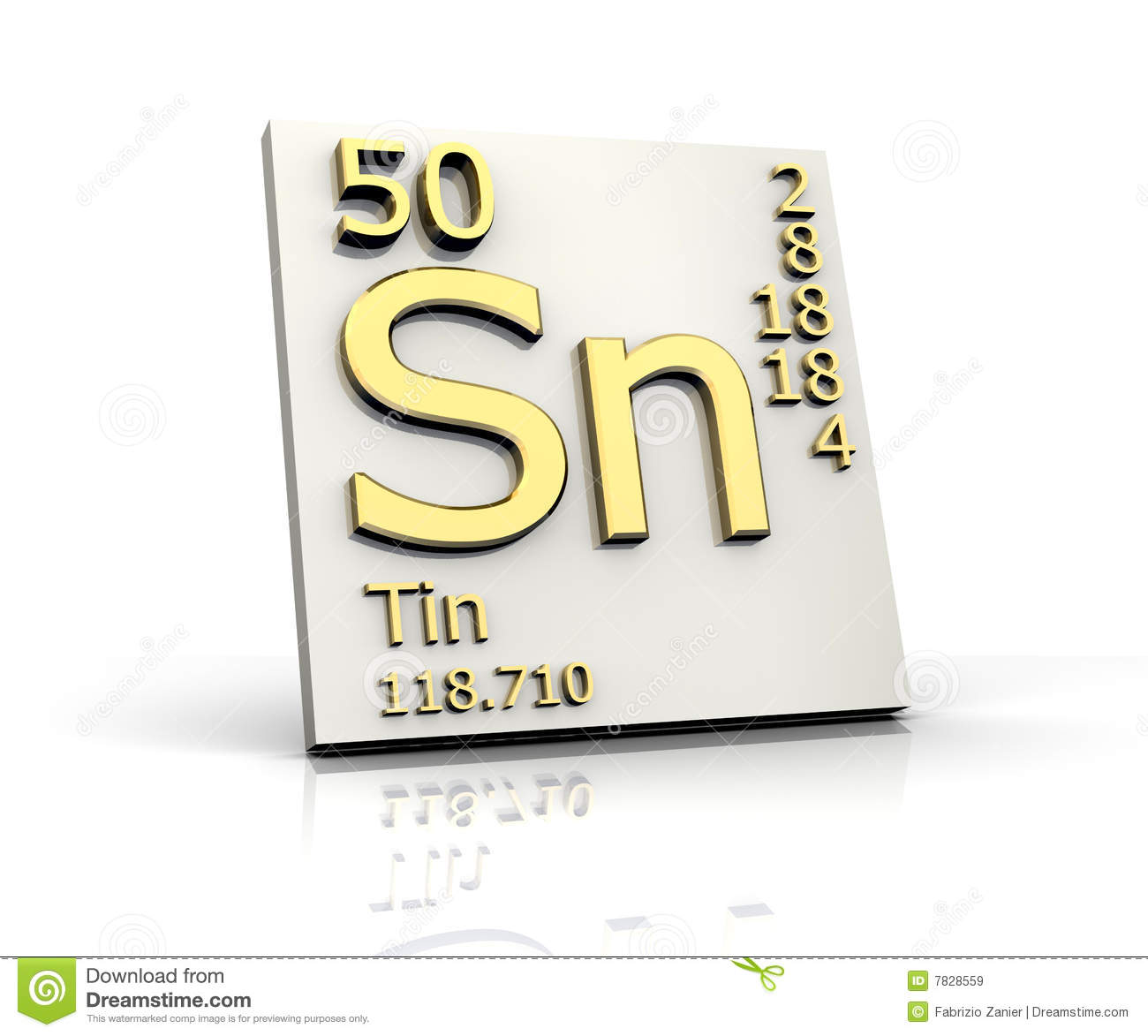 Tin form periodic table of elements stock illustration tin form periodic table of elements urtaz Image collections