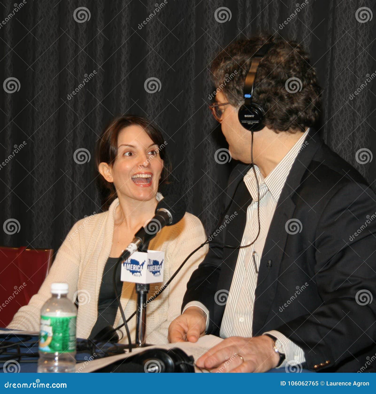 Tina Fey, en Al Franken
