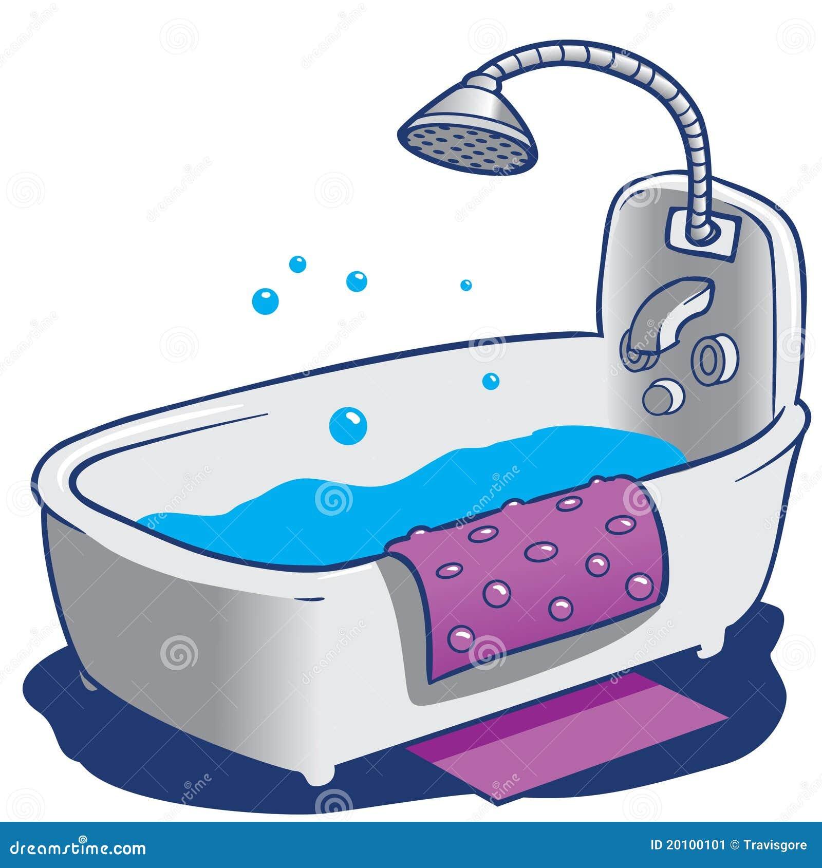 Tinas De Baño Con Ducha:Bath Shower Clip Art