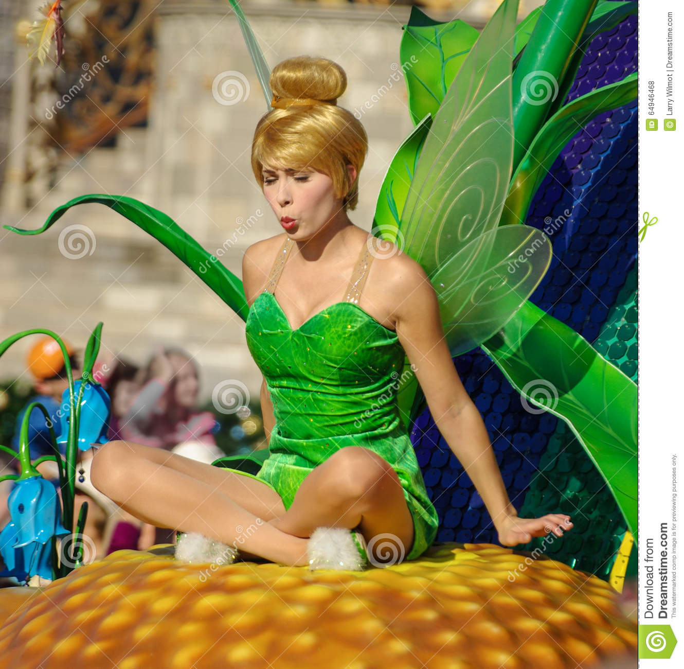 tinkerbell in the parade at walt disney world editorial cityscape clipart picsart cityscape clip art free