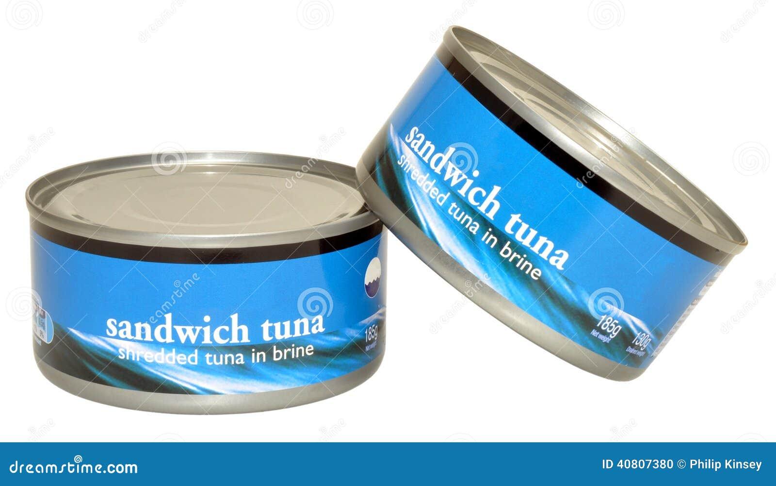Tins of tuna fish stock photo image 40807380 for Tuna fish price