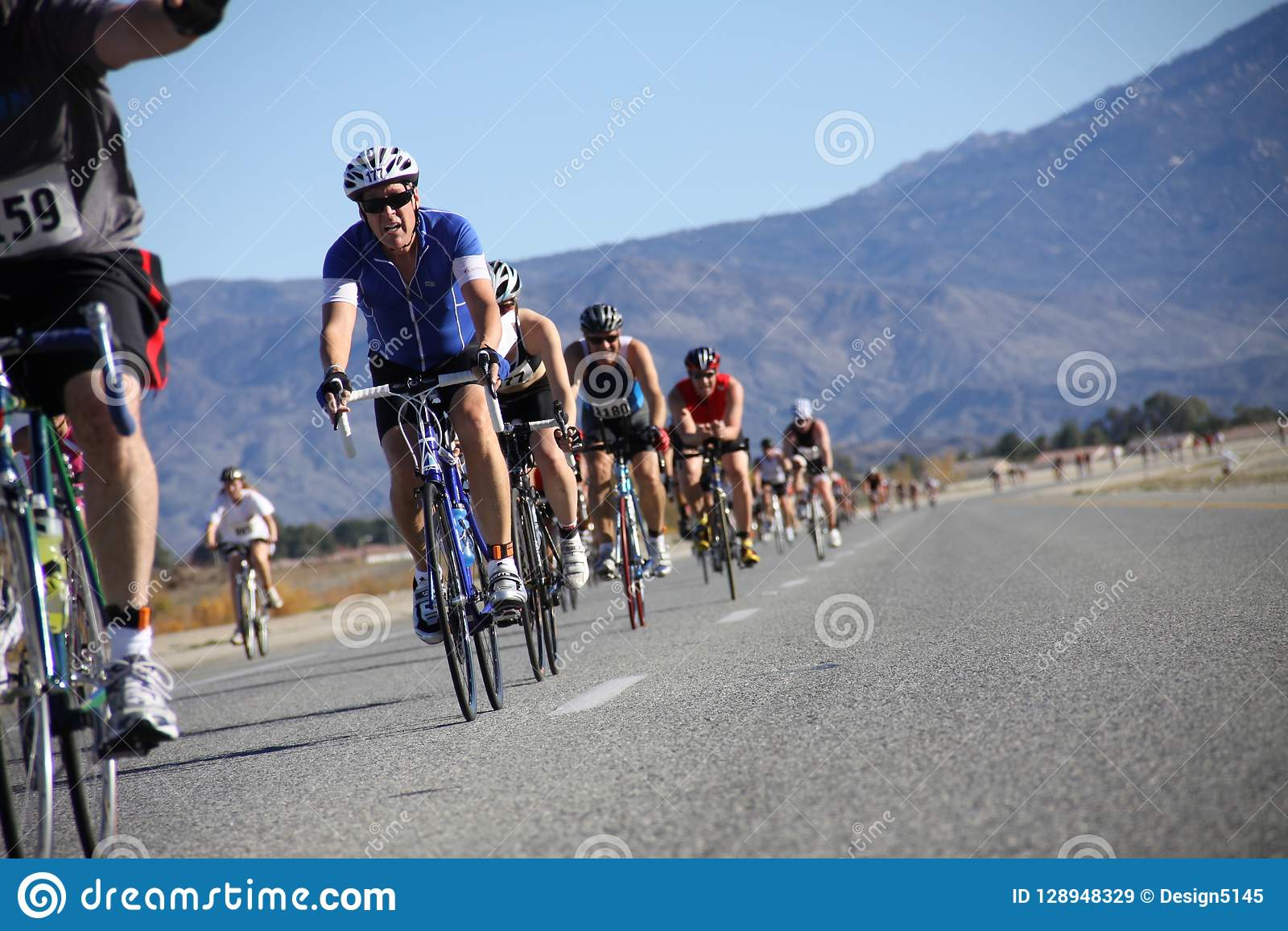 Tinsel Triathlon Bike-Weg