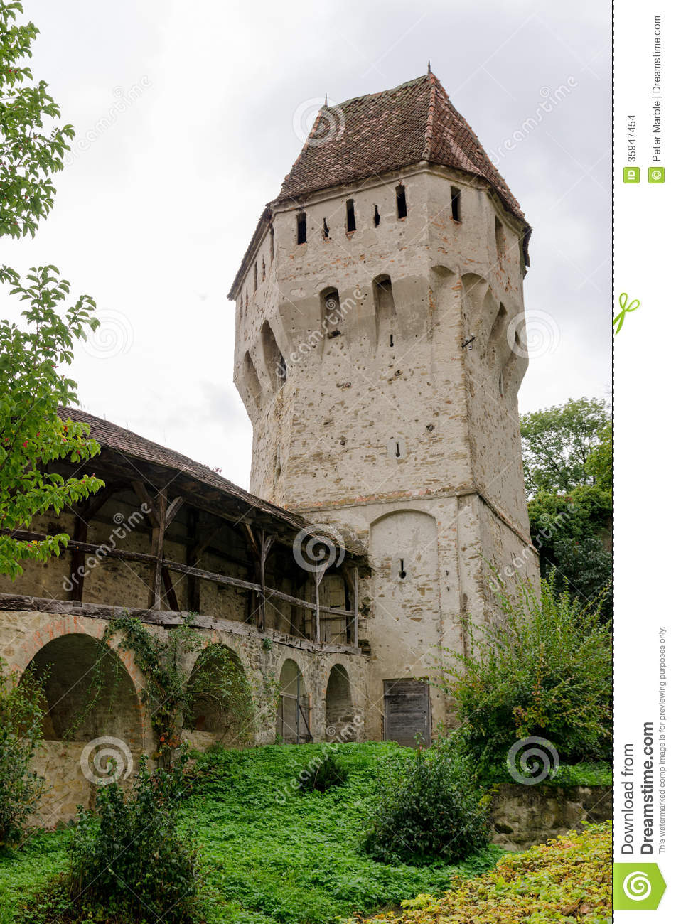 Tinsmiths Tower And Musketeers Passage In Sighisoara