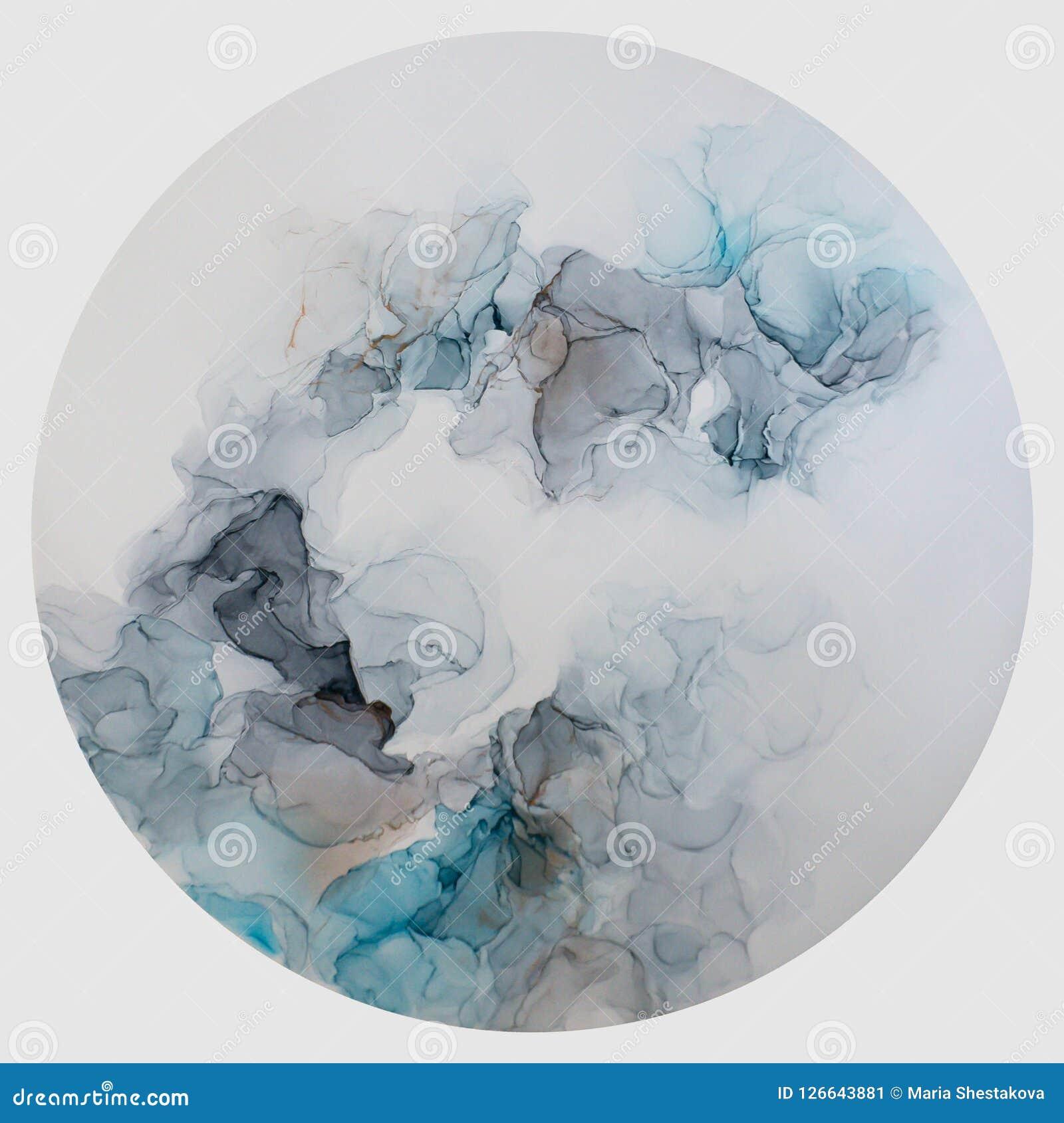 Tinta, pintura, abstrata Fundo abstrato colorido da pintura pintura de óleo Alto-textured Deta de alta qualidade