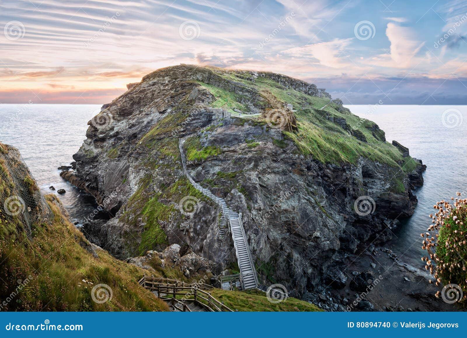 Tintagel城堡废墟