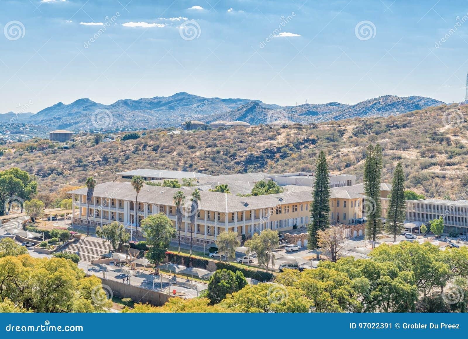 Tintenpalast, the Namibian parliament buildings in Windhoek