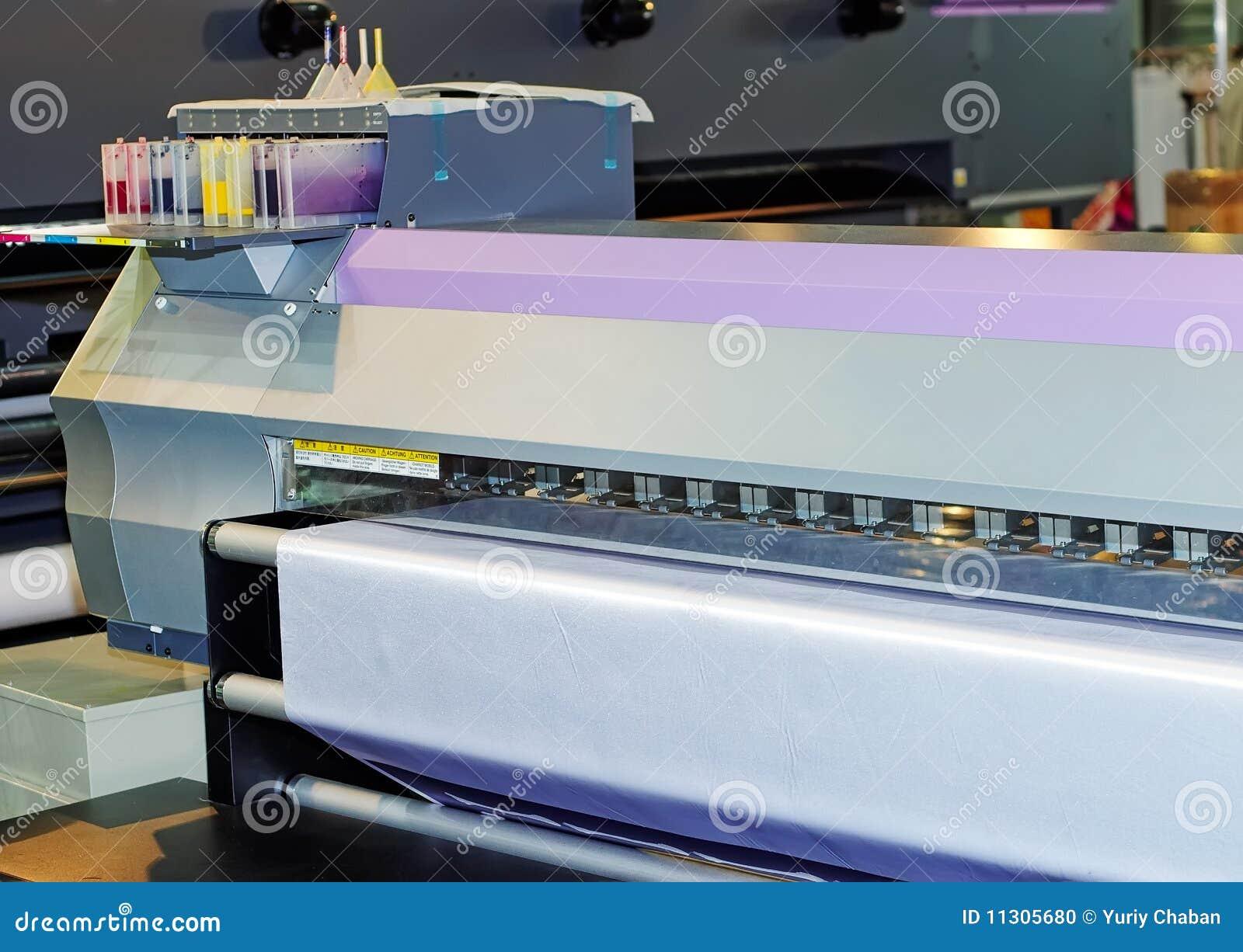 Tintenstrahldrucker des großen Formats