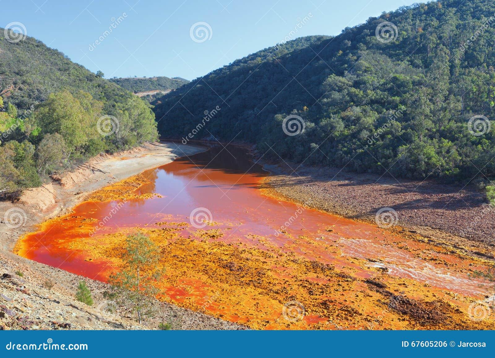 Tinto River, Huelva, Spanje