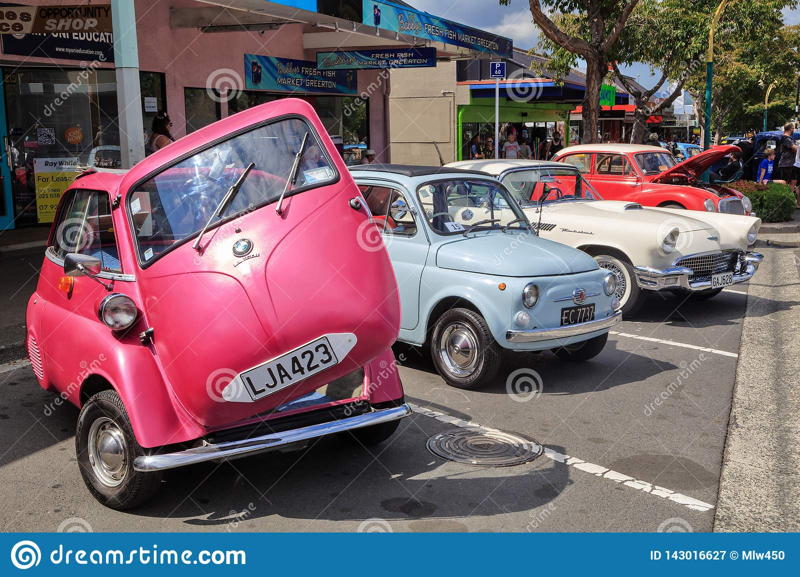 A Tiny Bubble Car Of The 1960s A Bmw Isetta Editorial