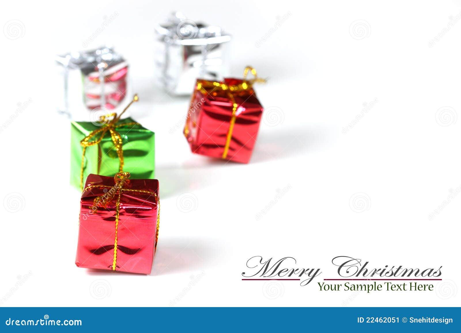 Tiny christmas gifts stock image. Image of small, christmas - 22462051