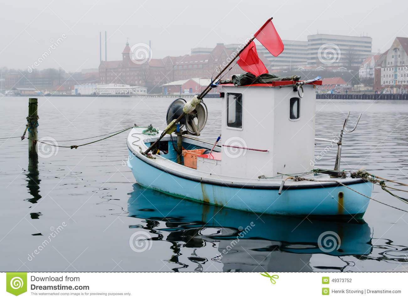 Tiny Fishing Boat - Sonderborg, Denmark Editorial Photography - Image of boat, harbor: 49373752