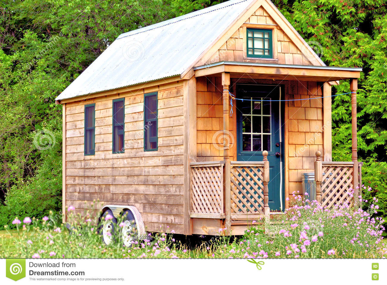 Tiny Home Stock Photo Image Of House Friendly Small 74784620