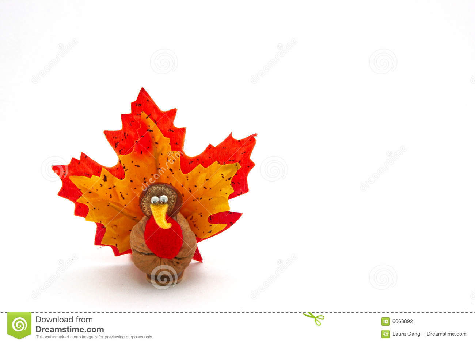 Happy Thanksgiving Greeting >> Tiny Turkey For Thanksgiving Stock Photo - Image of halloween, humorous: 6068892