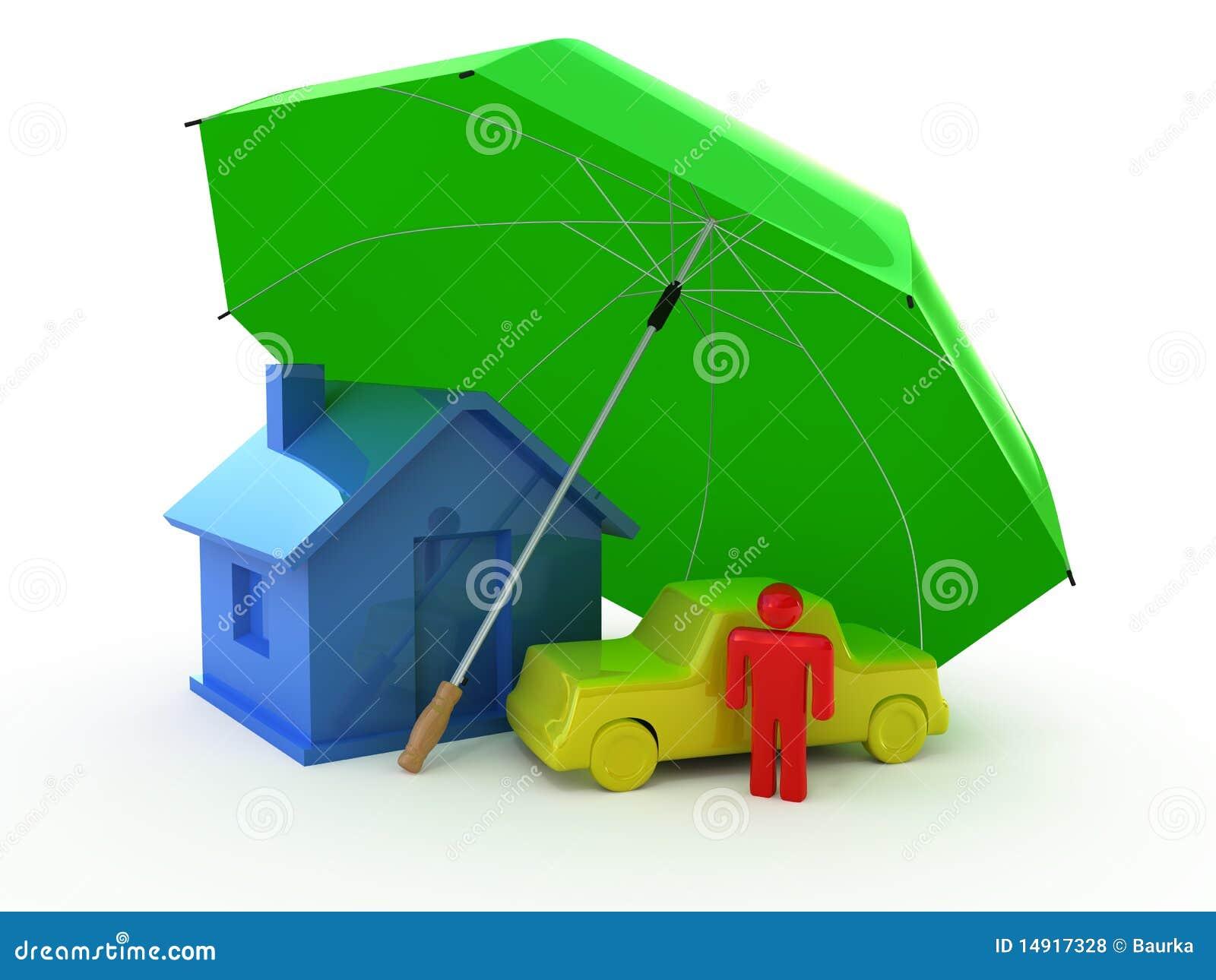 Tipi di assicurazioni illustrazione di stock for Assicurazione domestica