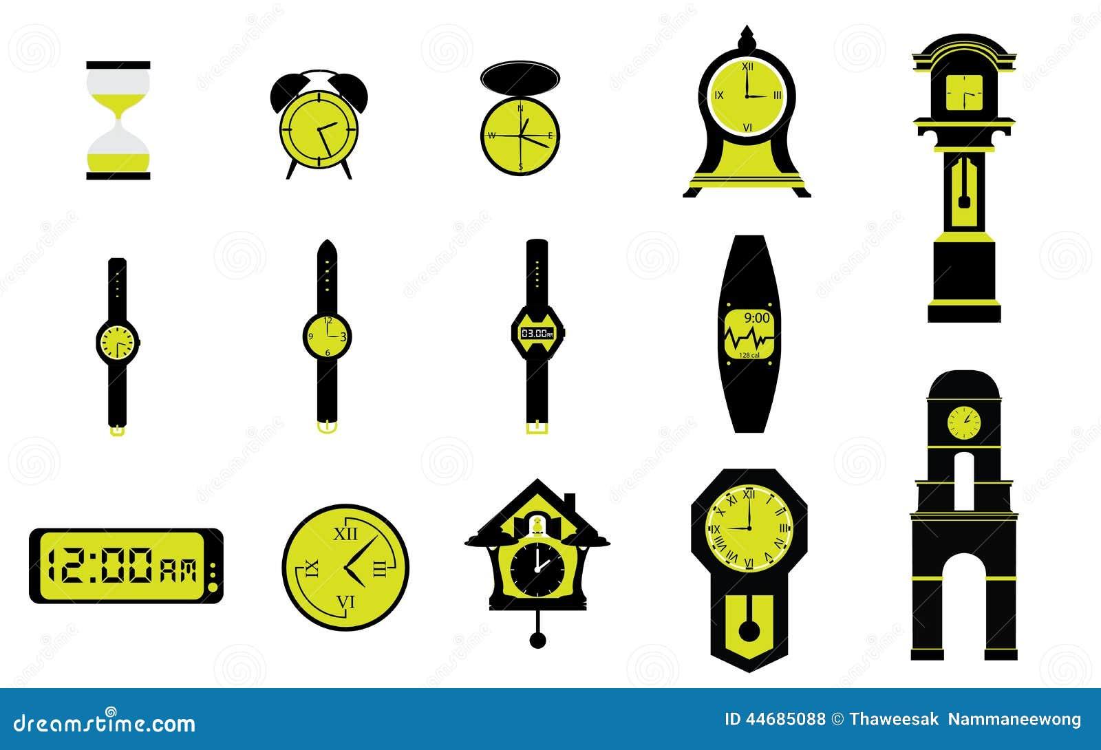 vari tipi di orologi