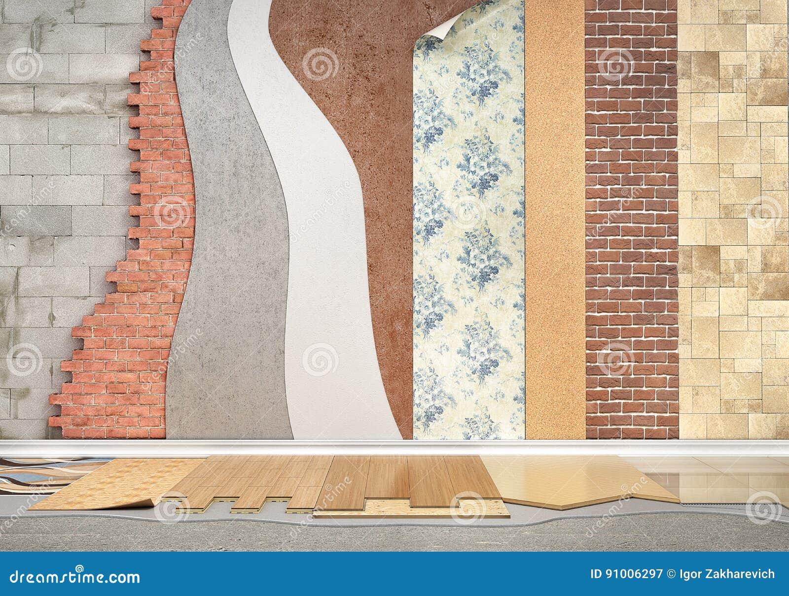 Tipi di rivestimenti Installazione della pavimentazione