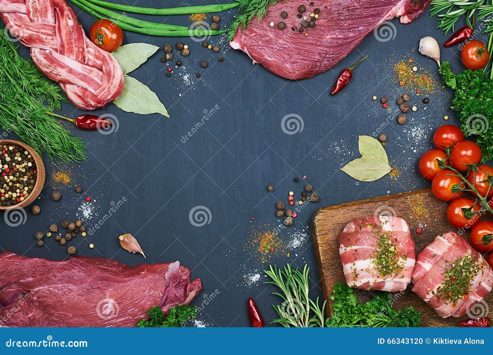 Tipi differenti di carni