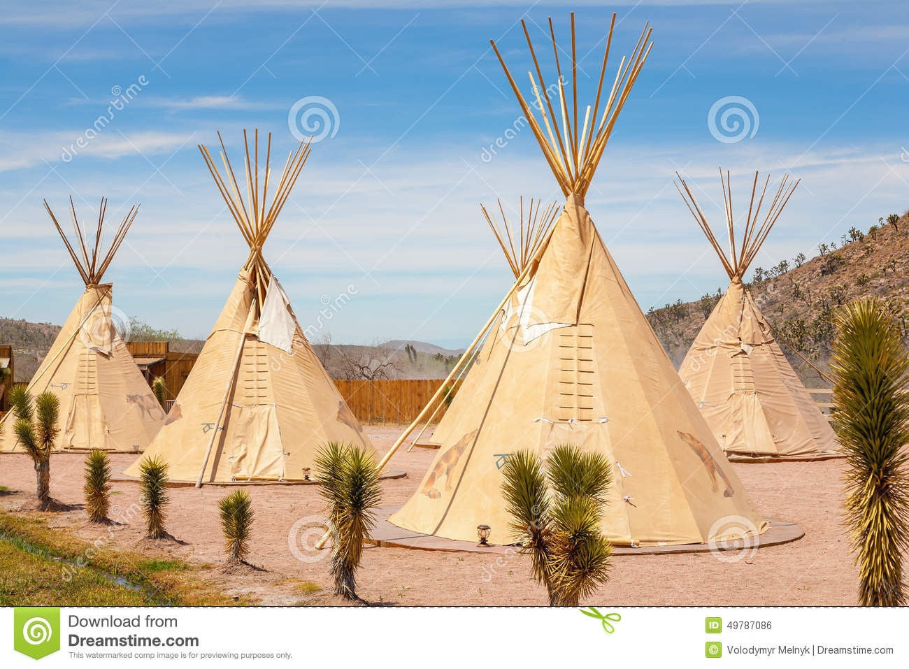 tipi national des indiens d 39 amerique photo stock image 49787086. Black Bedroom Furniture Sets. Home Design Ideas