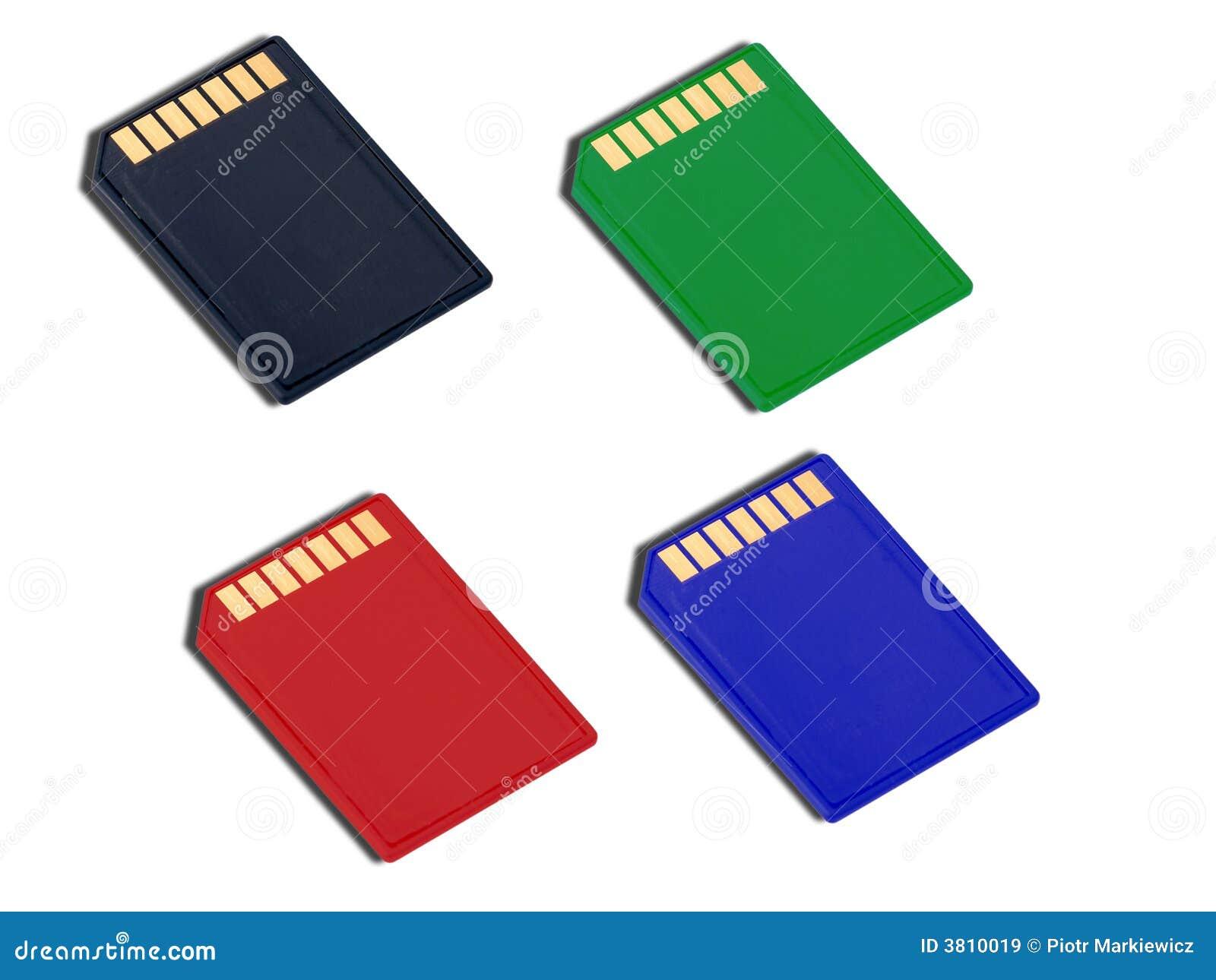 Tipo Tarjetas Del SD De Memoria Imagen de archivo - Imagen de ...