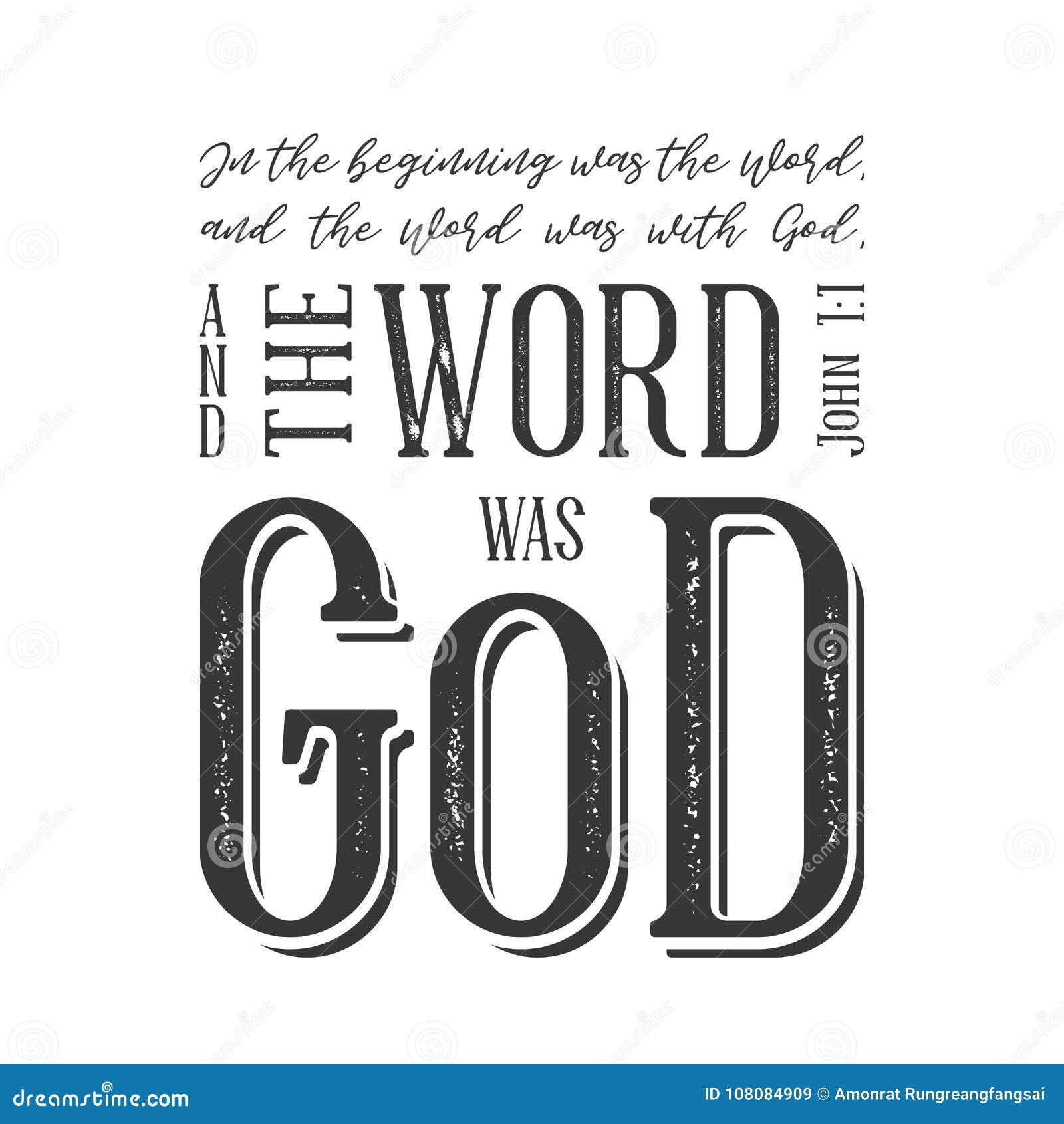 Tipografía de la cita de la biblia