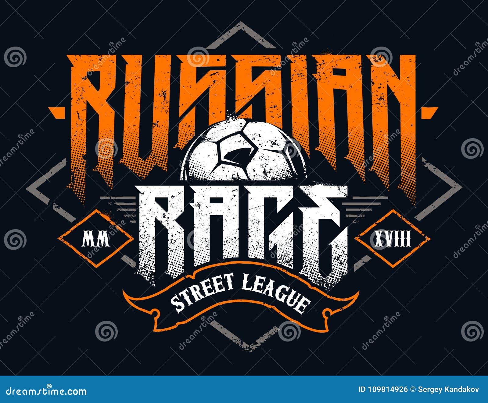 Tipografia russa di collera