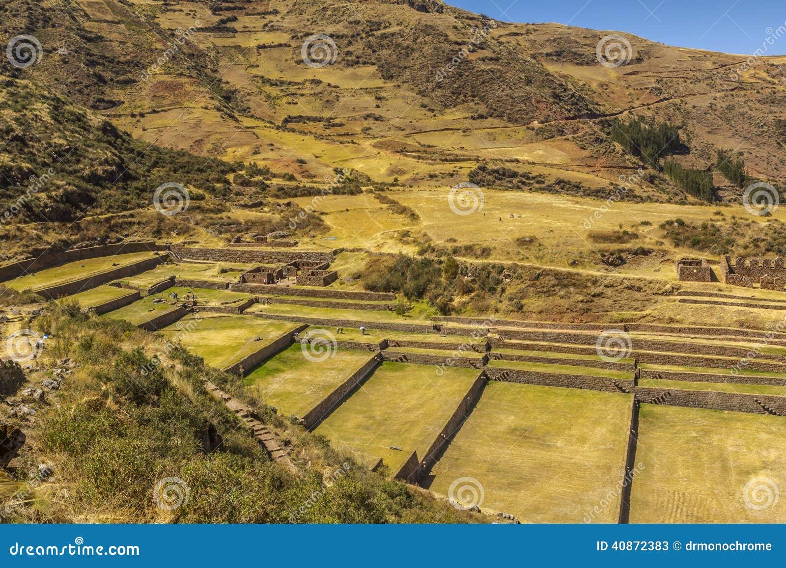 Tipon ruine Cuzco Pérou