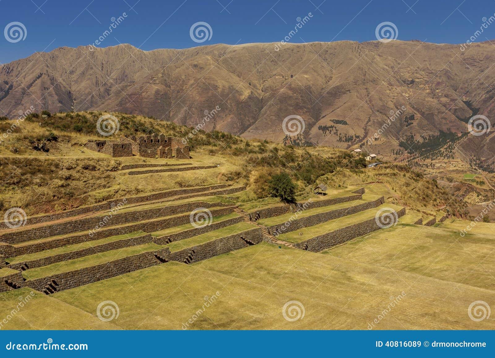 Tipon rujnuje Cuzco Peru