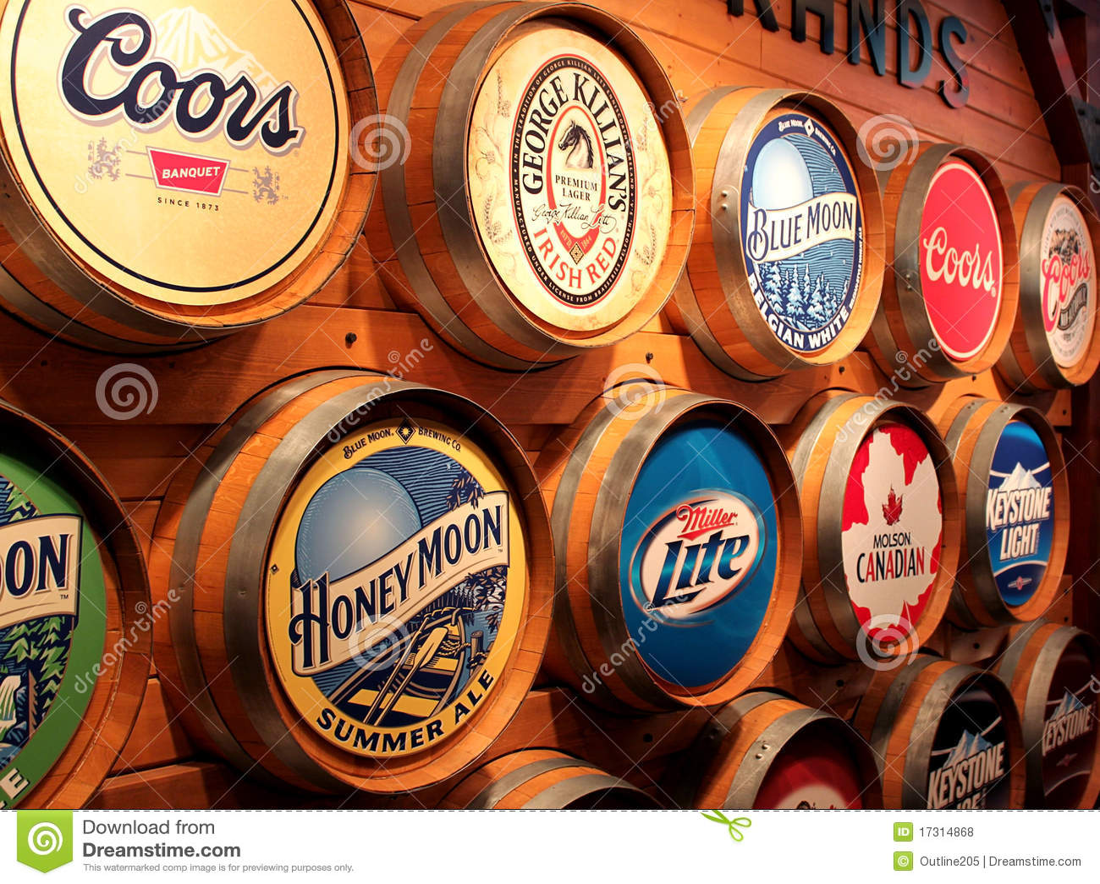 Tipos da cerveja de Coors