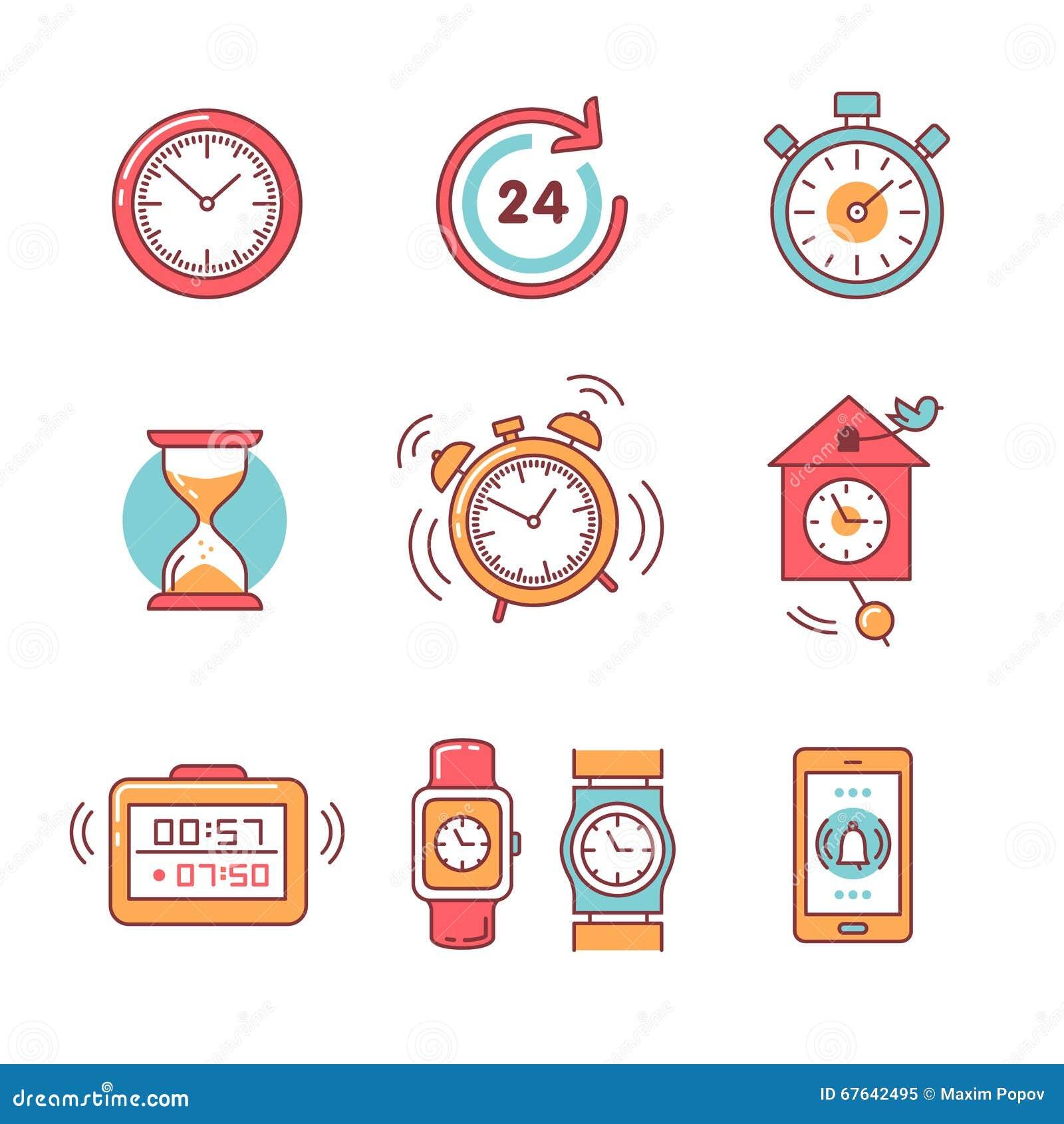 Tipos de despertadores de contadores de tiempo y de - Tipos de relojes ...
