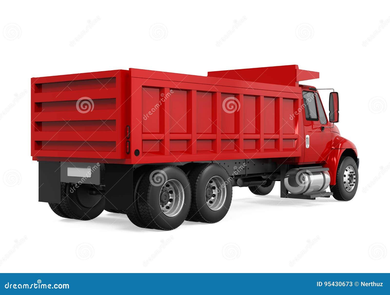 Tipper usypu ciężarówka