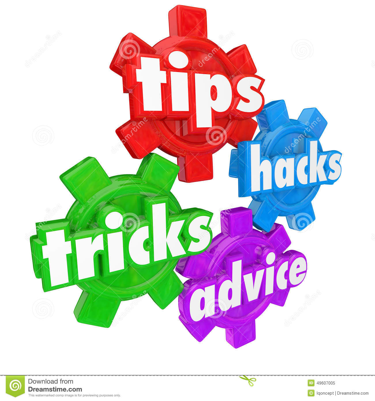 tips tricks helps and advice gears words help assistance