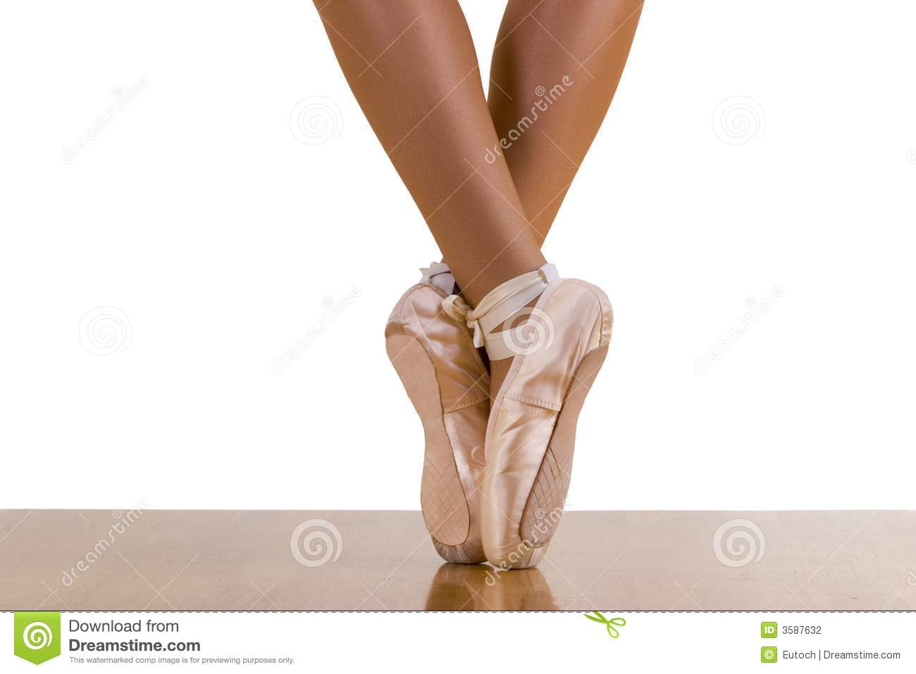 Tiptoe-Ballett-Training